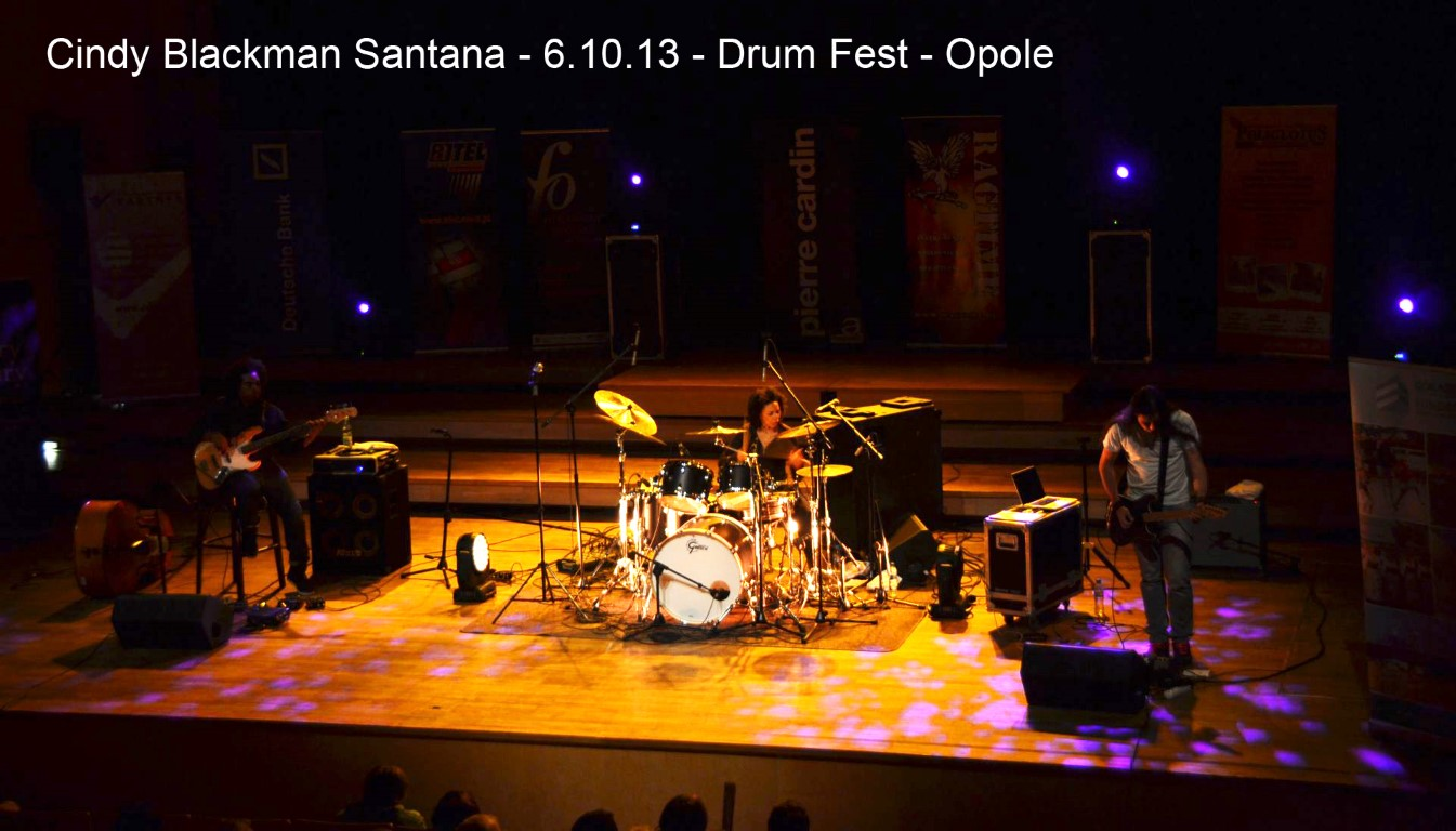 Cindy Blackman Trilogy, with Rashaan Carter, Poland 2013